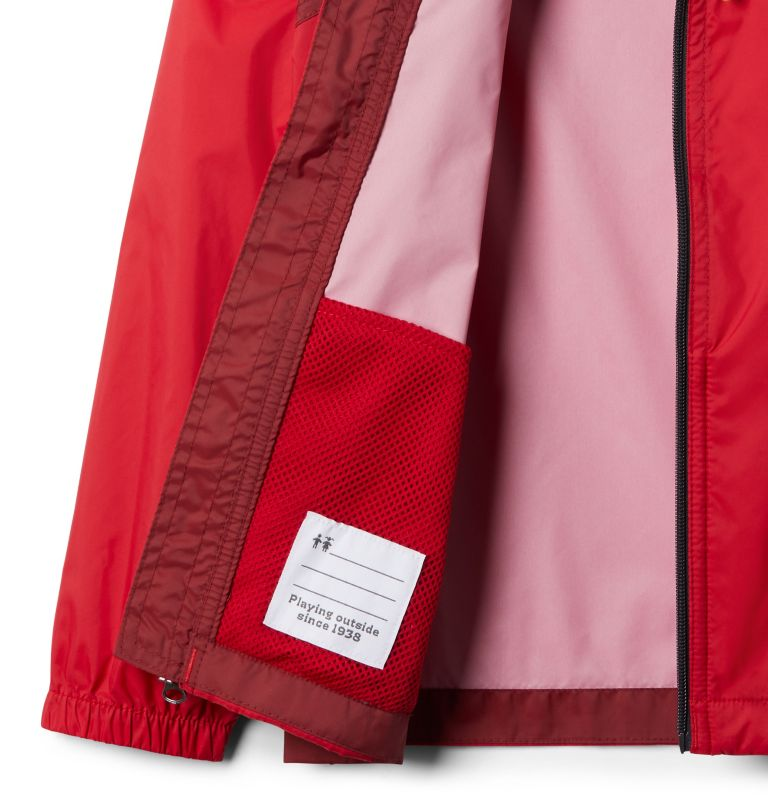 Glennaker™ Rain Jacket | 616 | L Boys' Glennaker™ Rain Jacket, Mountain Red, Red Jasper, a1