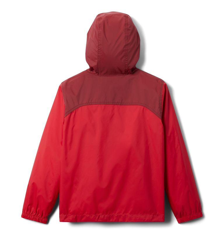 Glennaker™ Rain Jacket | 616 | L Boys' Glennaker™ Rain Jacket, Mountain Red, Red Jasper, back