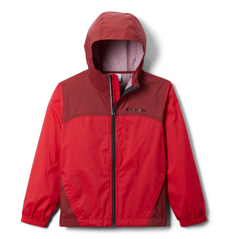 Glennaker™ Rain Jacket | 616 | L Boys' Glennaker™ Rain Jacket, Mountain Red, Red Jasper, front