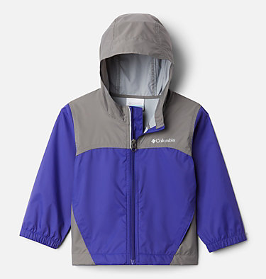 Boys' Toddler Glennaker™ Rain Jacket Glennaker™ Rain Jacket | 617 | 3T, Purple Quartz, City Grey, front