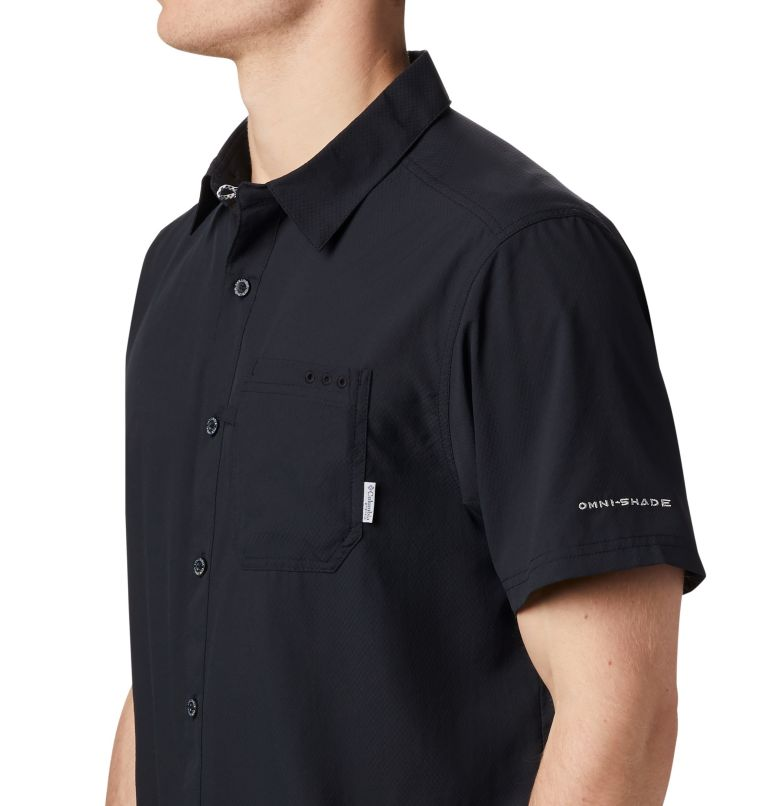 Slack Tide™ Camp Shirt | 010 | XXL Men's PFG Slack Tide™ Camp Shirt, Black, a1