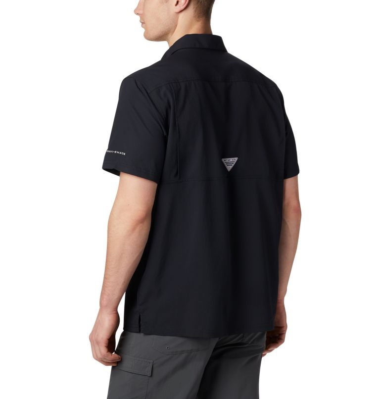 Slack Tide™ Camp Shirt | 010 | XXL Men's PFG Slack Tide™ Camp Shirt, Black, back