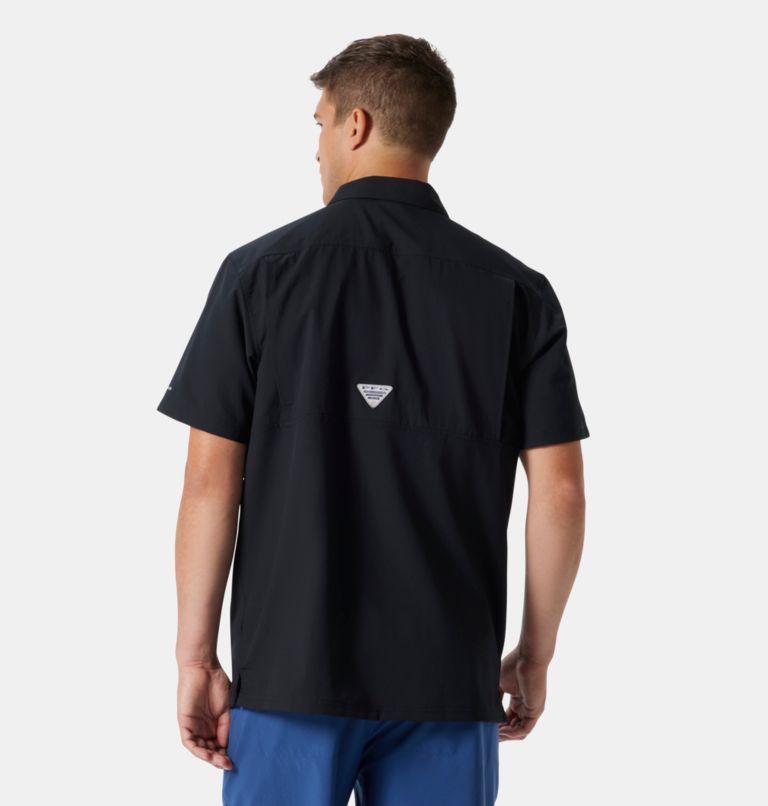 Slack Tide™ Camp Shirt | 010 | M Men's PFG Slack Tide™ Camp Shirt, Black, back