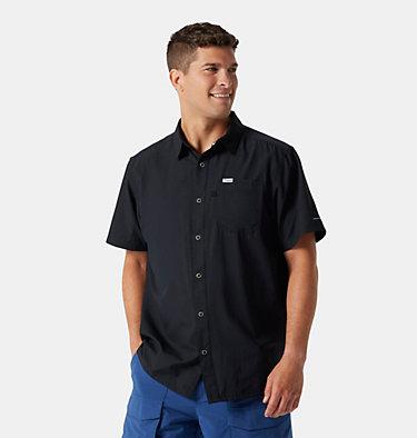 Men's PFG Slack Tide™ Camp Shirt Slack Tide™ Camp Shirt | 454 | L, Black, front