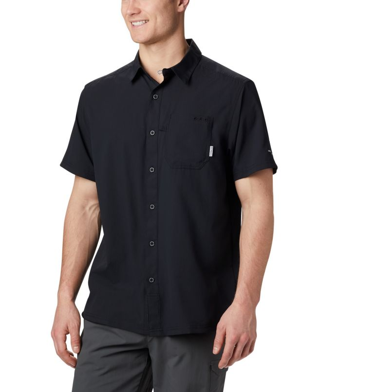 Slack Tide™ Camp Shirt | 010 | XXL Men's PFG Slack Tide™ Camp Shirt, Black, front