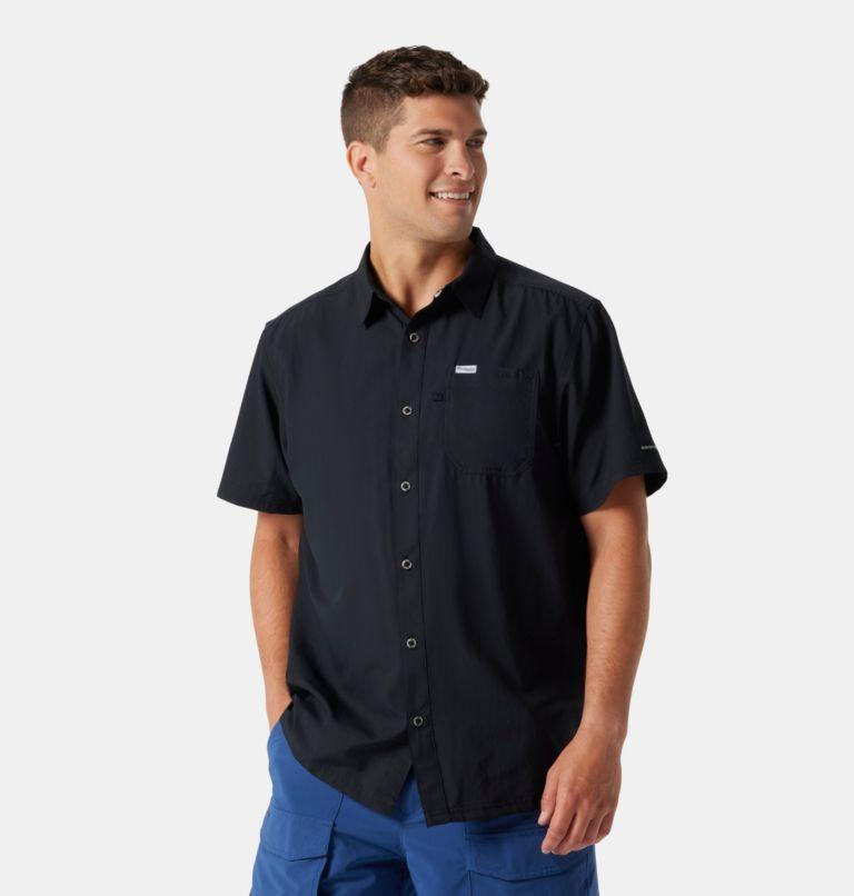 Slack Tide™ Camp Shirt | 010 | M Men's PFG Slack Tide™ Camp Shirt, Black, front