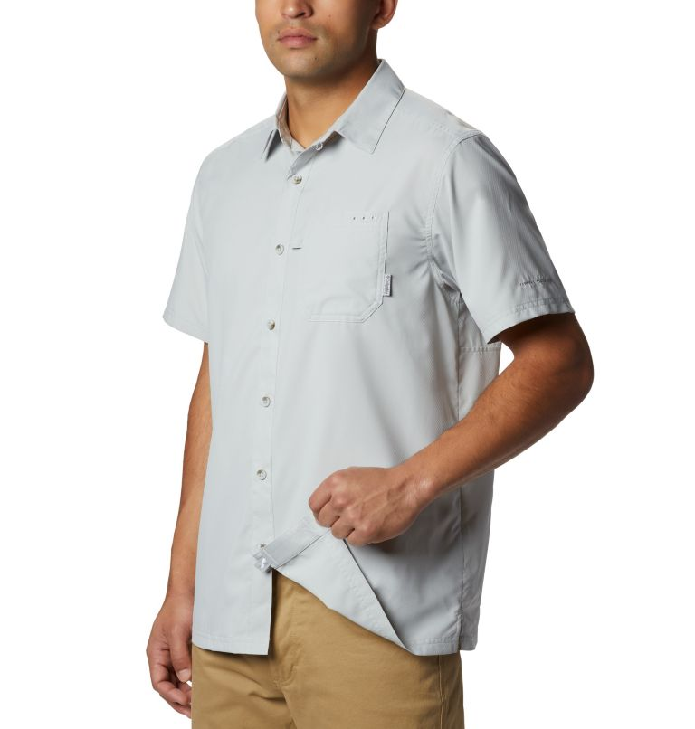 Slack Tide™ Camp Shirt   019   S Men's PFG Slack Tide™ Camp Shirt, Cool Grey, a1