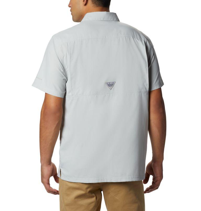 Slack Tide™ Camp Shirt   019   S Men's PFG Slack Tide™ Camp Shirt, Cool Grey, back