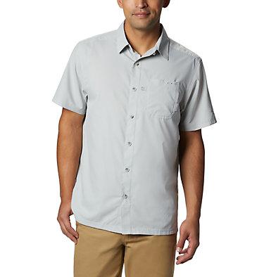 Men's PFG Slack Tide™ Camp Shirt Slack Tide™ Camp Shirt | 454 | L, Cool Grey, front