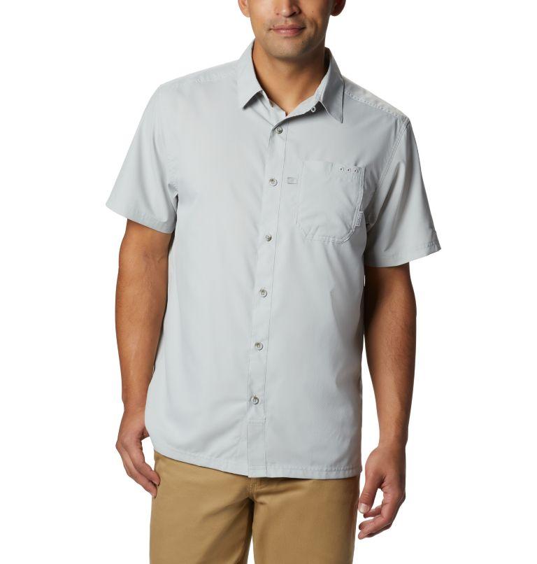 Slack Tide™ Camp Shirt | 019 | XXL Men's PFG Slack Tide™ Camp Shirt, Cool Grey, front