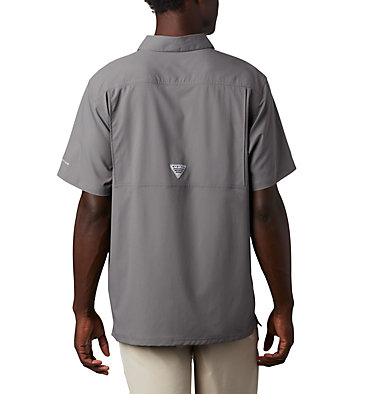 Men's PFG Slack Tide™ Camp Shirt Slack Tide™ Camp Shirt | 707 | XS, City Grey, back