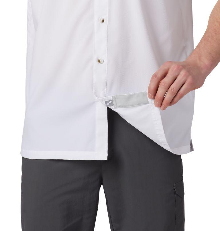 Slack Tide™ Camp Shirt | 100 | XS Men's PFG Slack Tide™ Camp Shirt, White, a1