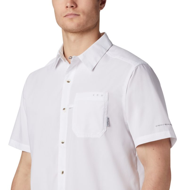 Slack Tide™ Camp Shirt   100   XL Men's PFG Slack Tide™ Camp Shirt, White, a2