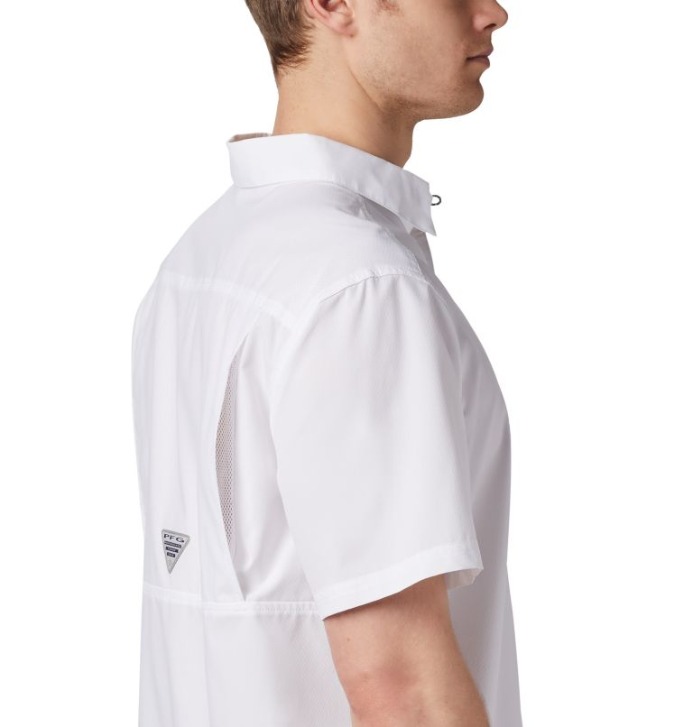 Slack Tide™ Camp Shirt | 100 | XS Men's PFG Slack Tide™ Camp Shirt, White, a3