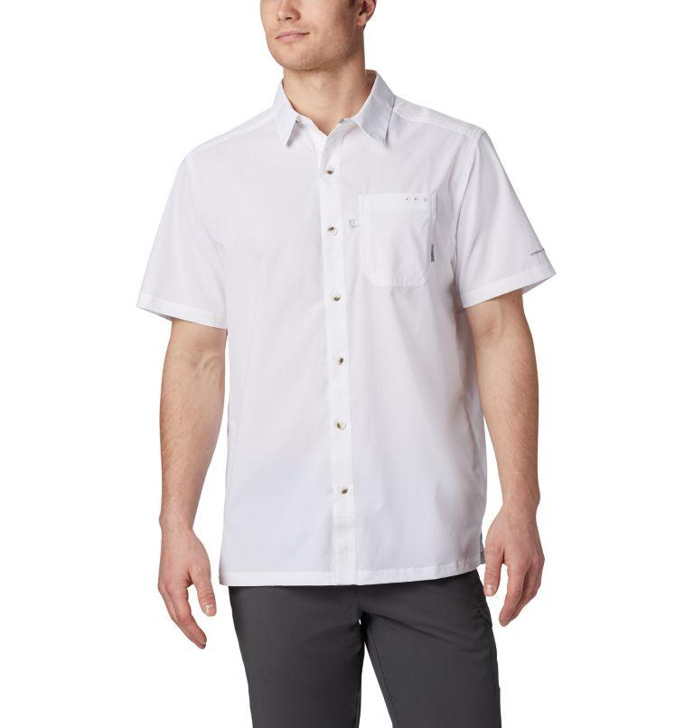 Slack Tide™ Camp Shirt | 100 | S Men's PFG Slack Tide™ Camp Shirt, White, front