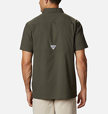 Men's PFG Slack Tide™ Camp Shirt Slack Tide™ Camp Shirt | 707 | XS, Alpine Tundra, back