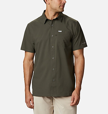 Men's PFG Slack Tide™ Camp Shirt Slack Tide™ Camp Shirt | 707 | XS, Alpine Tundra, front
