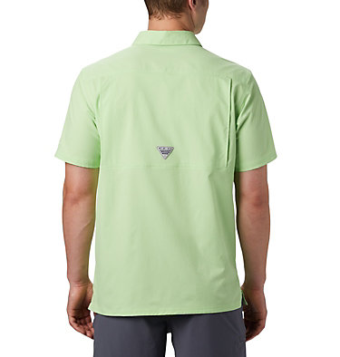 Men's PFG Slack Tide™ Camp Shirt Slack Tide™ Camp Shirt | 707 | XS, Jade Lime, back