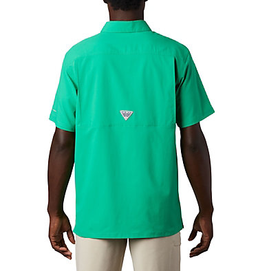 Men's PFG Slack Tide™ Camp Shirt Slack Tide™ Camp Shirt | 707 | XS, Dark Lime, back