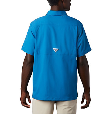 Men's PFG Slack Tide™ Camp Shirt Slack Tide™ Camp Shirt | 707 | XS, Dark Pool, back