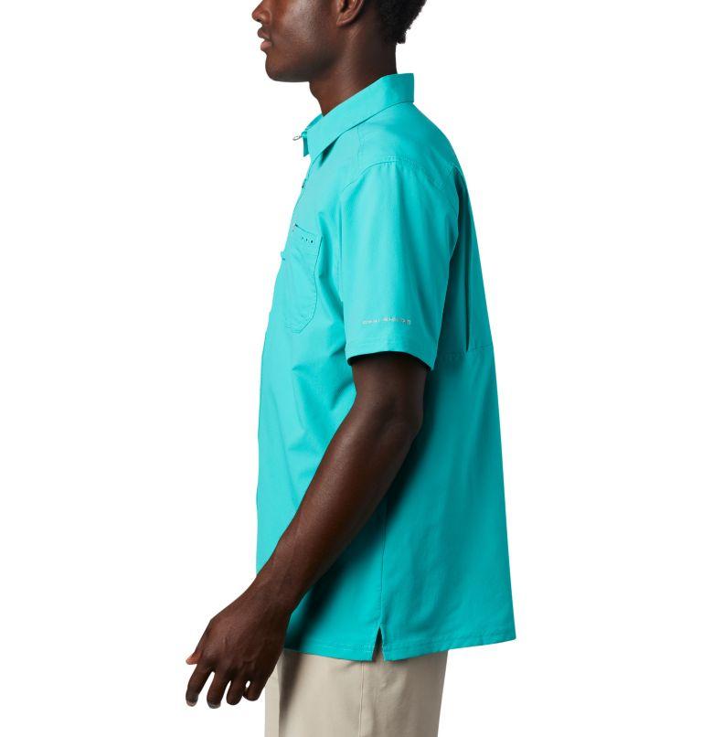 Slack Tide™ Camp Shirt | 454 | S Men's PFG Slack Tide™ Camp Shirt, Bright Aqua, a1