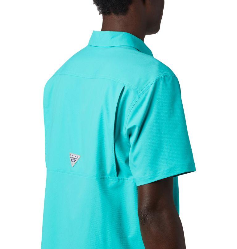 Slack Tide™ Camp Shirt | 454 | S Men's PFG Slack Tide™ Camp Shirt, Bright Aqua, a3