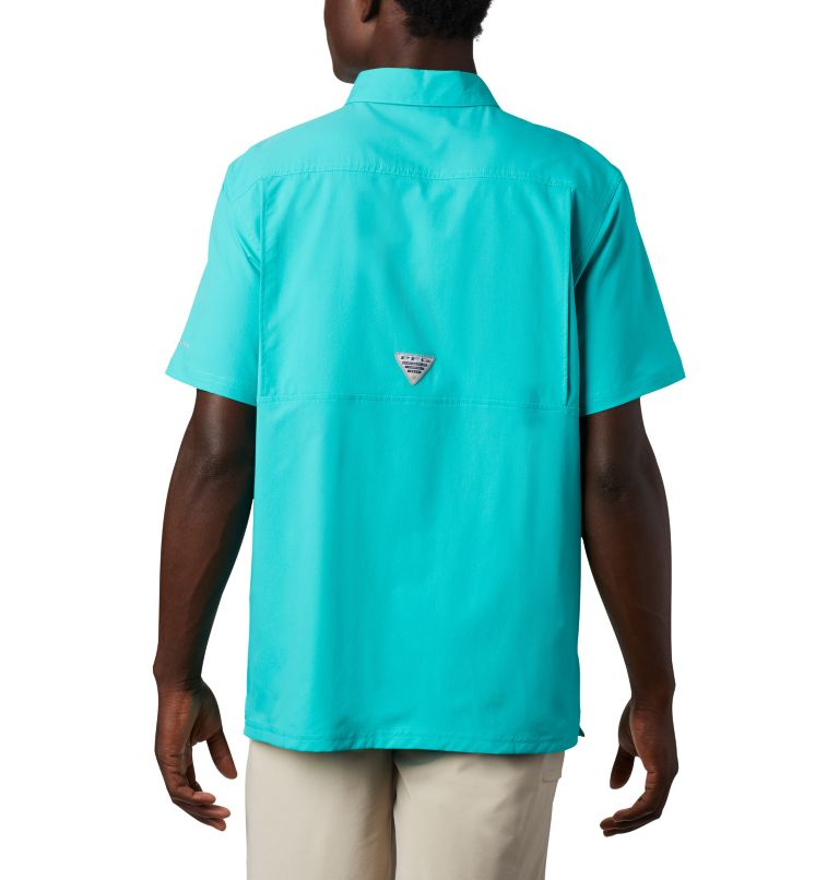 Slack Tide™ Camp Shirt | 454 | XXL Men's PFG Slack Tide™ Camp Shirt, Bright Aqua, back