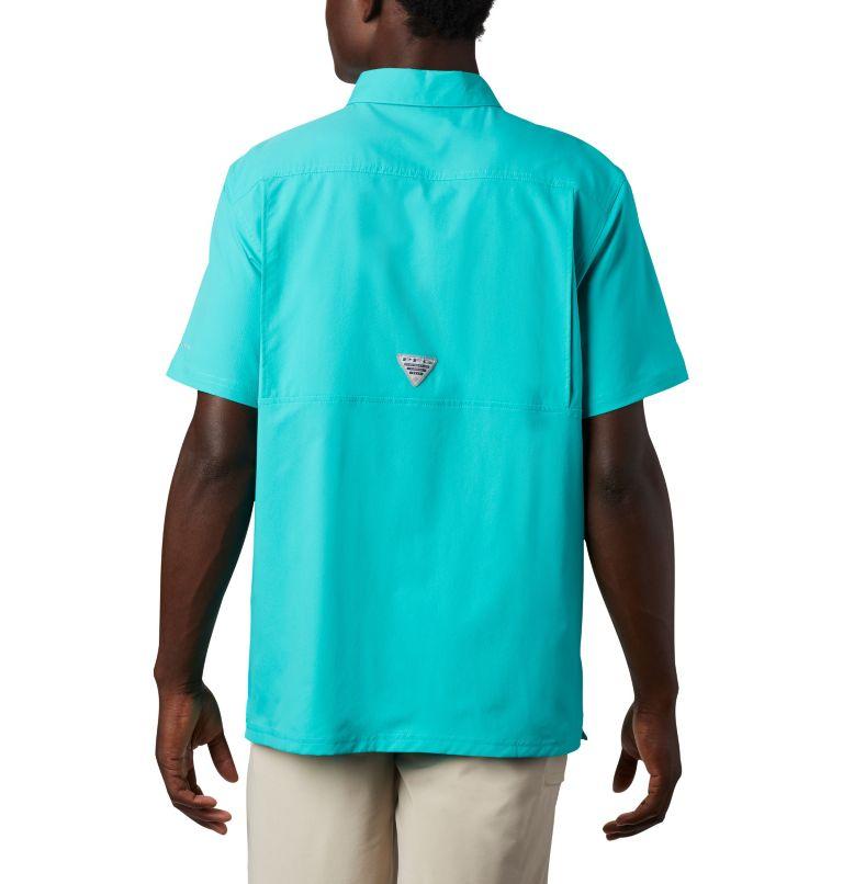 Slack Tide™ Camp Shirt | 454 | M Men's PFG Slack Tide™ Camp Shirt, Bright Aqua, back