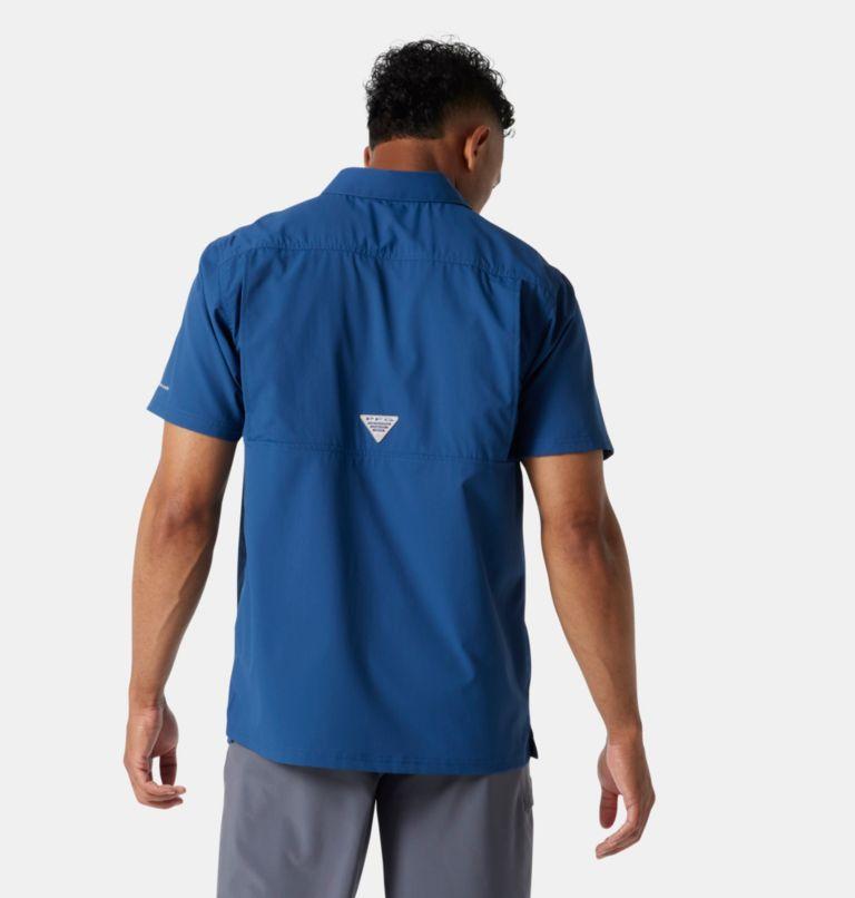Slack Tide™ Camp Shirt | 469 | XS Men's PFG Slack Tide™ Camp Shirt, Carbon, back