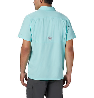 Men's PFG Slack Tide™ Camp Shirt Slack Tide™ Camp Shirt | 707 | XS, Gulf Stream, back