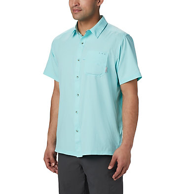 Men's PFG Slack Tide™ Camp Shirt Slack Tide™ Camp Shirt | 707 | XS, Gulf Stream, front