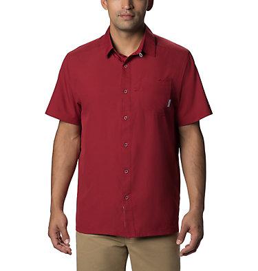 Men's PFG Slack Tide™ Camp Shirt Slack Tide™ Camp Shirt | 707 | XS, Beet, front