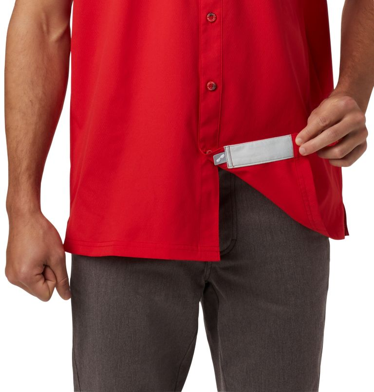 Slack Tide™ Camp Shirt | 696 | XXL Men's PFG Slack Tide™ Camp Shirt, Red Spark, a1