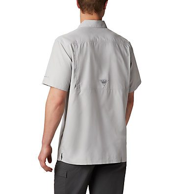 Men's PFG Slack Tide™ Camp Shirt - Tall Slack Tide™ Camp Shirt | 486 | 2XT, Cool Grey, back