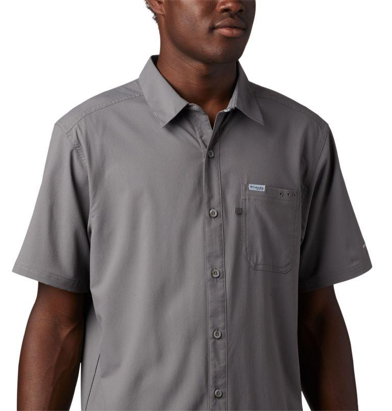 Slack Tide™ Camp Shirt | 023 | 3XT Men's PFG Slack Tide™ Camp Shirt - Tall, City Grey, a2