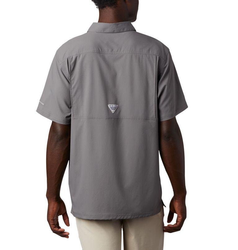 Slack Tide™ Camp Shirt | 023 | 3XT Men's PFG Slack Tide™ Camp Shirt - Tall, City Grey, back