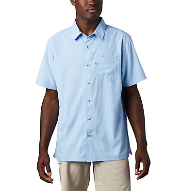Men's PFG Slack Tide™ Camp Shirt - Tall Slack Tide™ Camp Shirt | 486 | 2XT, Sail, front