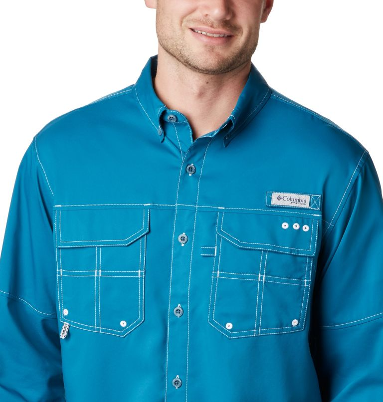 Men's PFG Blood and Guts™ III Long Sleeve Woven Shirt Men's PFG Blood and Guts™ III Long Sleeve Woven Shirt, a1