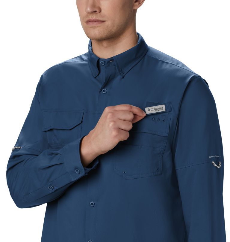 Men's PFG Blood and Guts™ III Long Sleeve Woven Shirt Men's PFG Blood and Guts™ III Long Sleeve Woven Shirt, a1