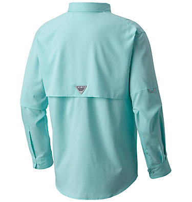 Men's PFG Blood and Guts™ III Long Sleeve Woven Shirt Blood and Guts™ III LS Woven Shirt | 967 | XS, Gulf Stream, back