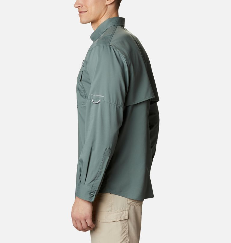 Blood and Guts™ III LS Woven Shirt | 967 | XS Men's PFG Blood and Guts™ III Long Sleeve Woven Shirt, Pond, a1