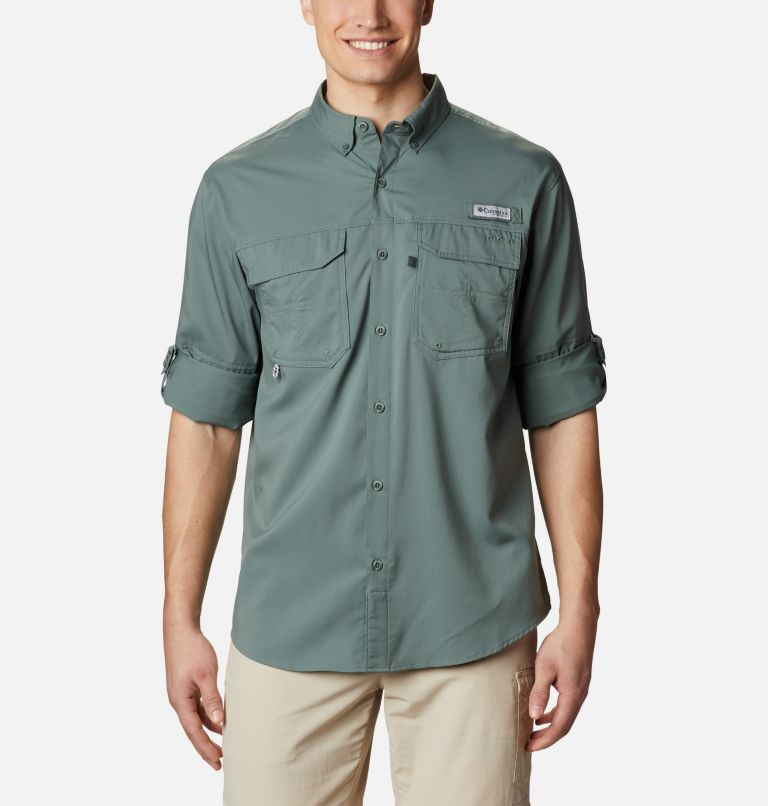 Blood and Guts™ III LS Woven Shirt | 967 | XS Men's PFG Blood and Guts™ III Long Sleeve Woven Shirt, Pond, a5