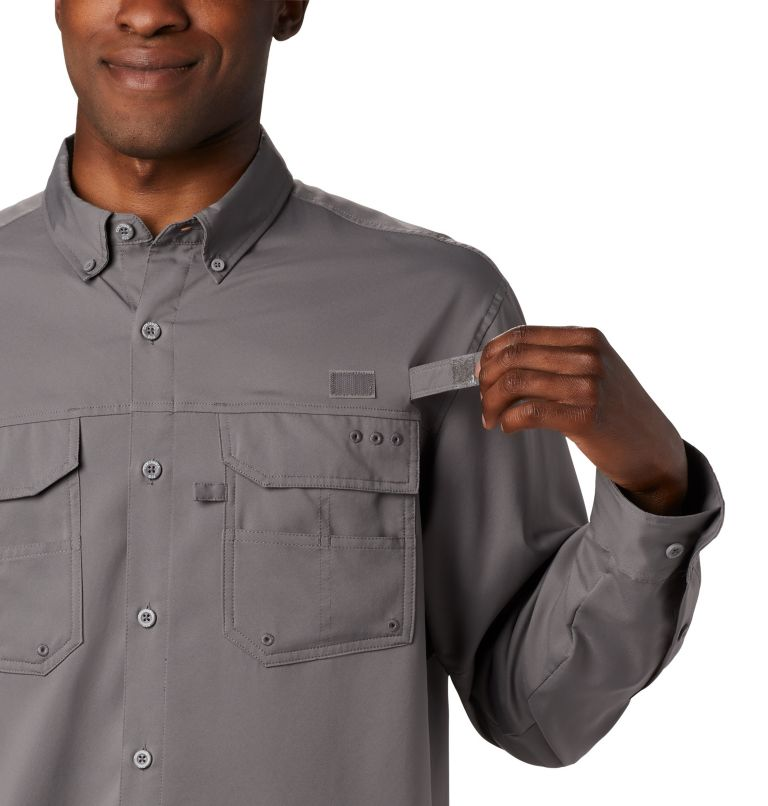 Men's PFG Blood and Guts™ III Long Sleeve Woven Shirt - Big Men's PFG Blood and Guts™ III Long Sleeve Woven Shirt - Big, a3