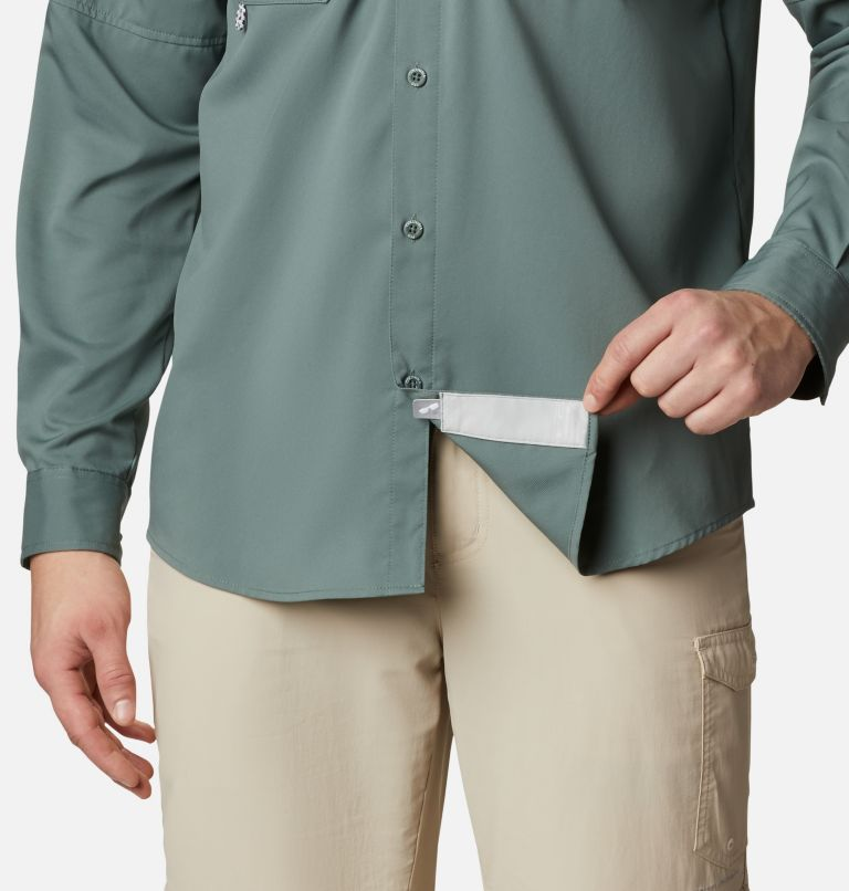 Men's PFG Blood and Guts™ III Long Sleeve Woven Shirt - Big Men's PFG Blood and Guts™ III Long Sleeve Woven Shirt - Big, a4