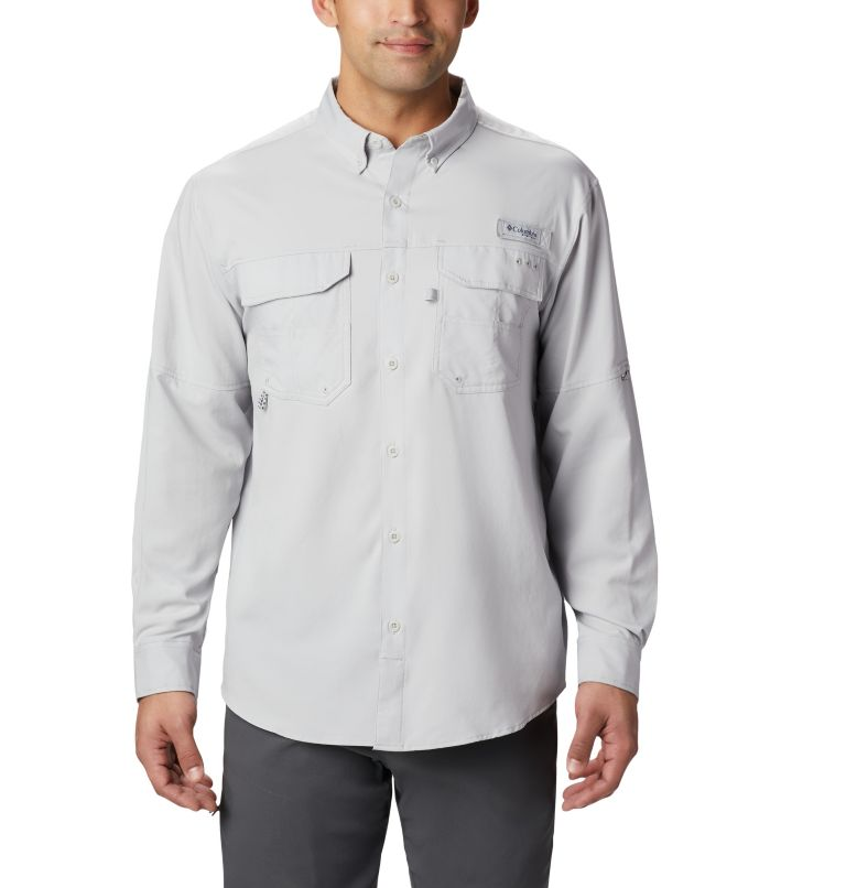 Men's PFG Blood and Guts™ III Long Sleeve Woven Shirt - Tall Men's PFG Blood and Guts™ III Long Sleeve Woven Shirt - Tall, front