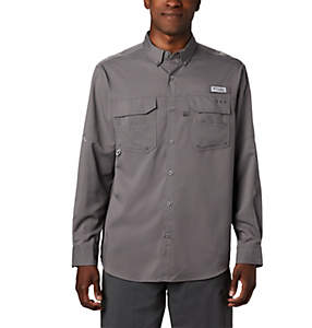 Men's PFG Blood and Guts™ III Long Sleeve Woven Shirt - Tall