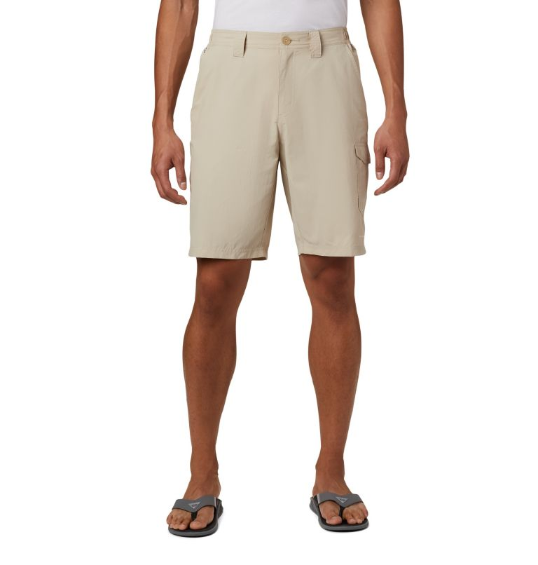 Blood and Guts™ III Short | 160 | 32 Men's PFG Blood and Guts™ III Shorts, Fossil, front