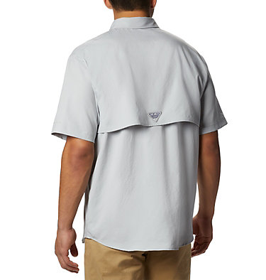 Men's PFG Blood and Guts™ III Short Sleeve Woven Shirt Blood and Guts™ III Short Sleeve Woven | 967 | XS, Cool Grey, back