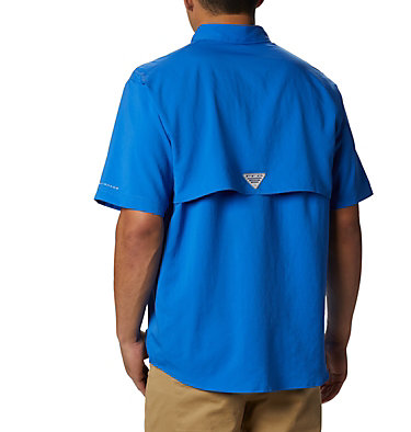 Men's PFG Blood and Guts™ III Short Sleeve Woven Shirt Blood and Guts™ III Short Sleeve Woven | 967 | XS, Vivid Blue, back