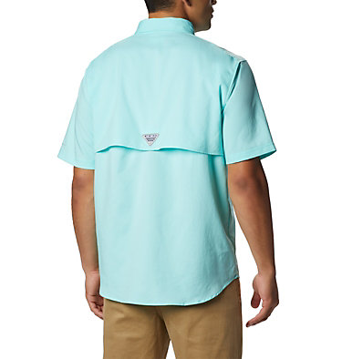 Men's PFG Blood and Guts™ III Short Sleeve Woven Shirt Blood and Guts™ III Short Sleeve Woven | 967 | XS, Gulf Stream, back